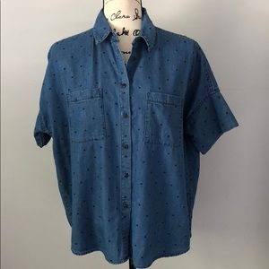 Madewell Denim Courier Shirt